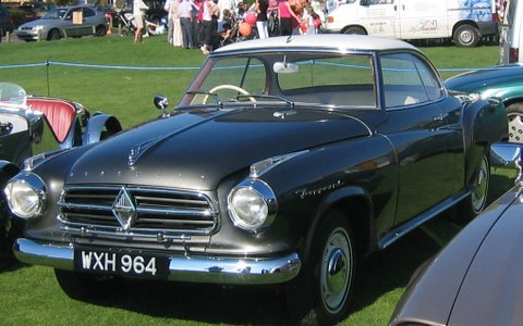 1960 Borgward Coupé Arg