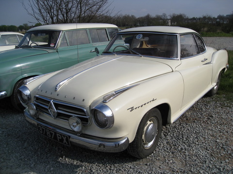 1960 Borgward Coupé Automatic