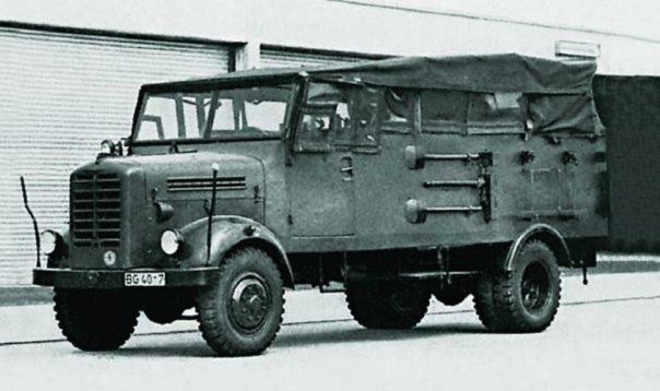 1960 Borgward В555А, 4x4