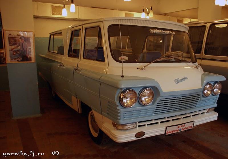 1960 GAZ equator-35