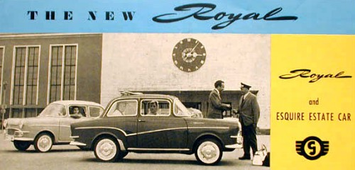 1960 glas royal ad