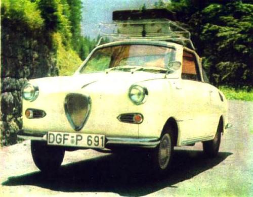 1960 goggomobil  coupe