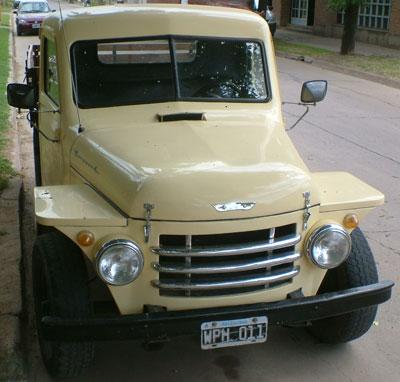 1960 rastrojero borgward