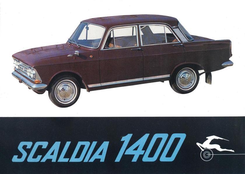 1960 Scaldia 1400 Rusland