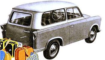 1960 trabant p50-5 kombi