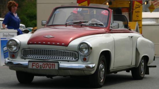 1960 Wartburg 313 Cabrio de luxe