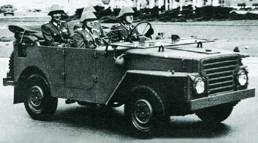 1961 Barkas Р-2М, 4x4