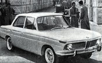 1961 BMW 1500 presented in Frankfurt