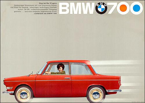 1961 BMW 700