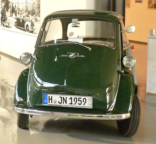 1961 BMW Isetta 600 Polizei