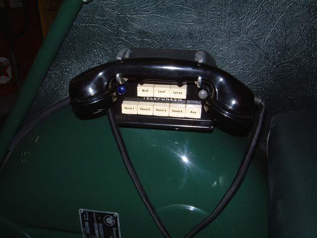 1961 BMW Isetta Police 300 Radio tele  (D)
