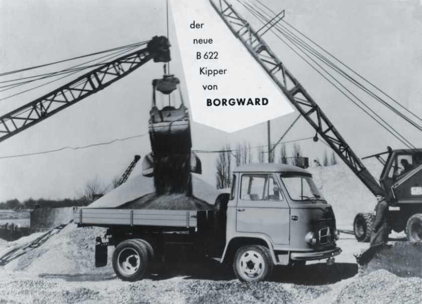 1961 Borgward B622-2
