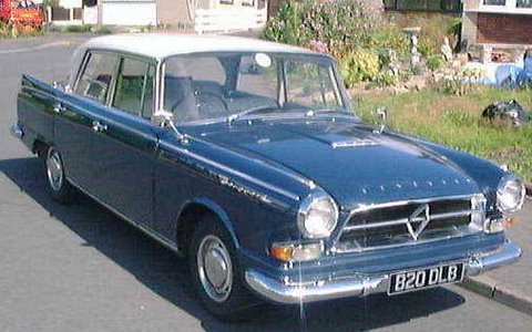 1961 Borgward Big Six Arg