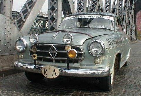 1961 Borgward Saloon TS de Luxe Arg