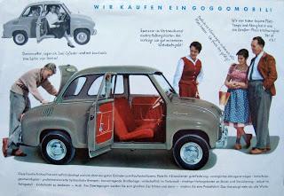 1961 Goggomobil Ad