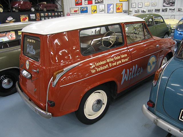 1961 Lloyd LP-600 Alexander Kombi achterzijde TS (D)