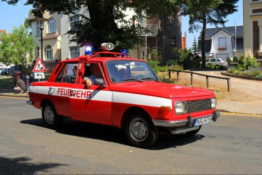 1961 Wartburg DDR Feuerwehr