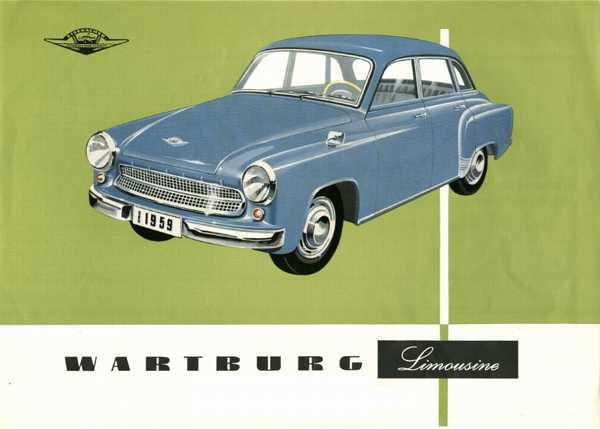 1961 wartburg limousine 1