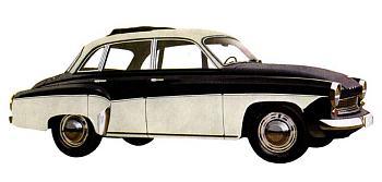1961 wartburg limousine de luxe scheibedach