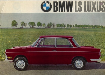 1962 BMW 700 LS Luxus saloon