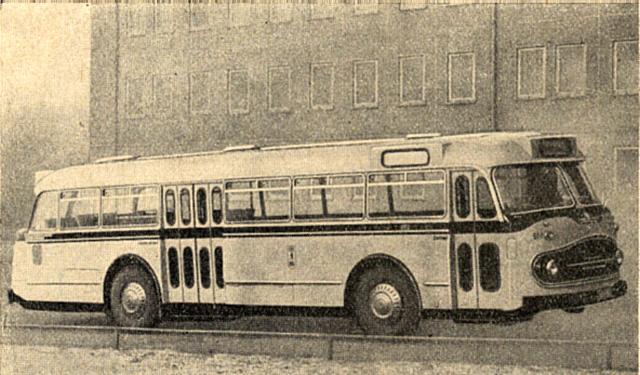 1962 Fleischer S3 Wagennummer 651
