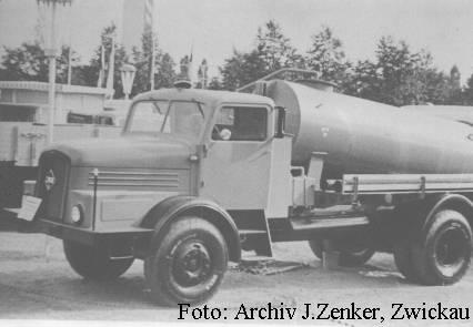 1962 IFA H 6 mit Fäkalienfaß