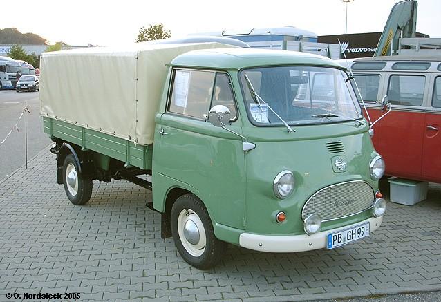 1962 Tempo Matador E Pritsche