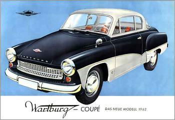 1962 wartburg coupe a