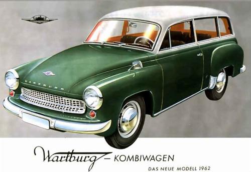 1962 Wartburg kombiwagon