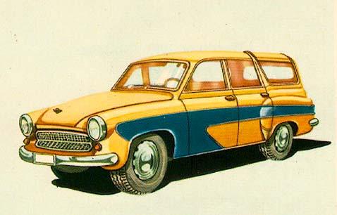 1962 WartburgWagon