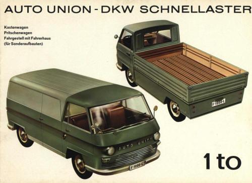 1963-67 Auto Union DKW F1000L