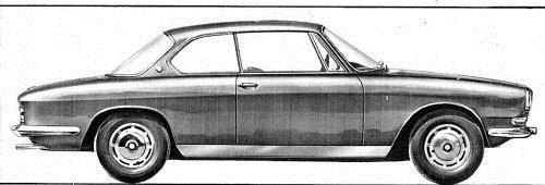 1963 BMW 3200 C