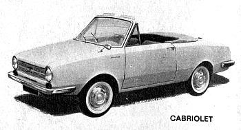 1963 glas 1004s cabrio