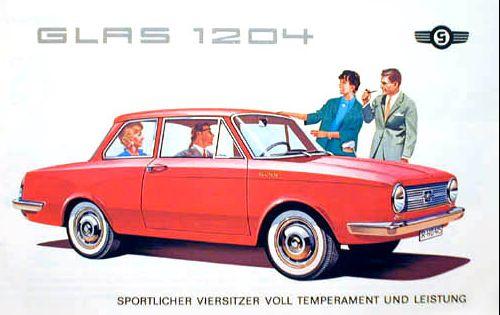 1963 glas 1204 sedan