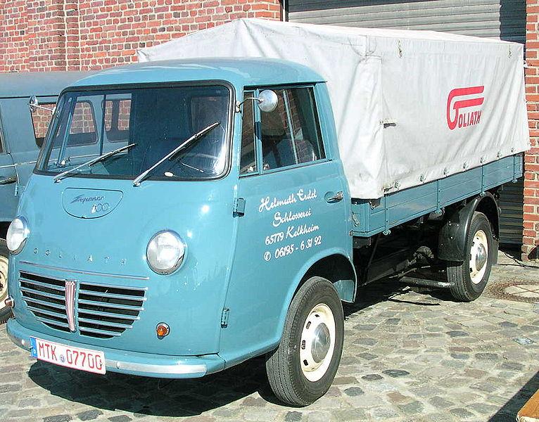 1963 Goliath Pritsche