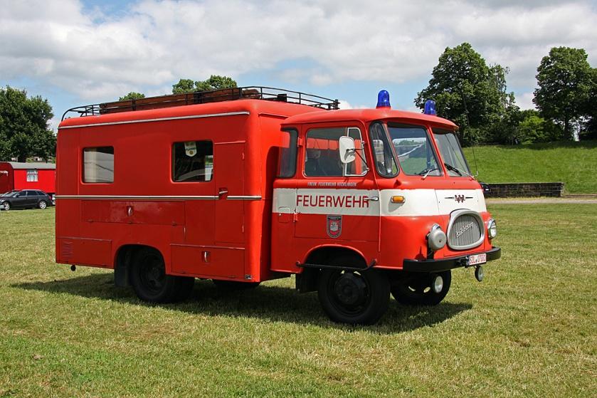 1963 Nachrichtenwagen auf Robur LO 2500