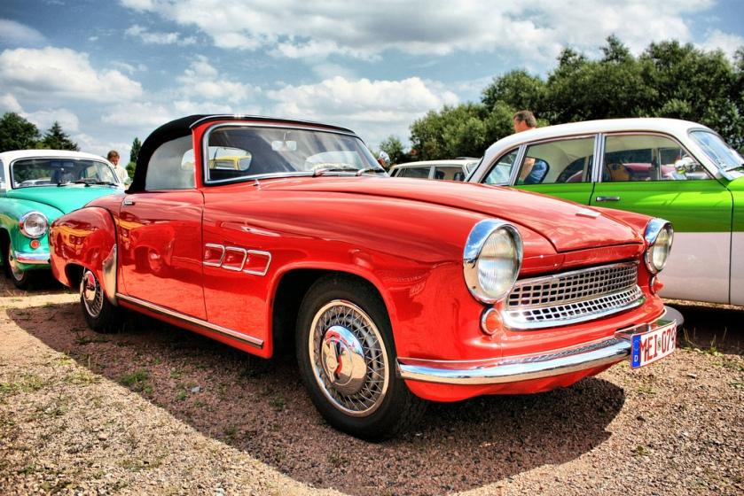 1963 Wartburg 313 S (Sportwagen Coupe)