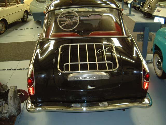 1964 Glas Goggomobil Coupe achterkant (D)
