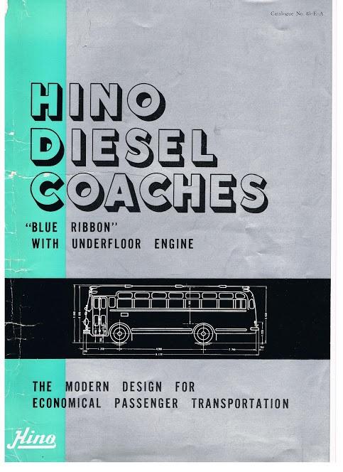 1964 HINO  Blue Ribbon  1000-10-1964