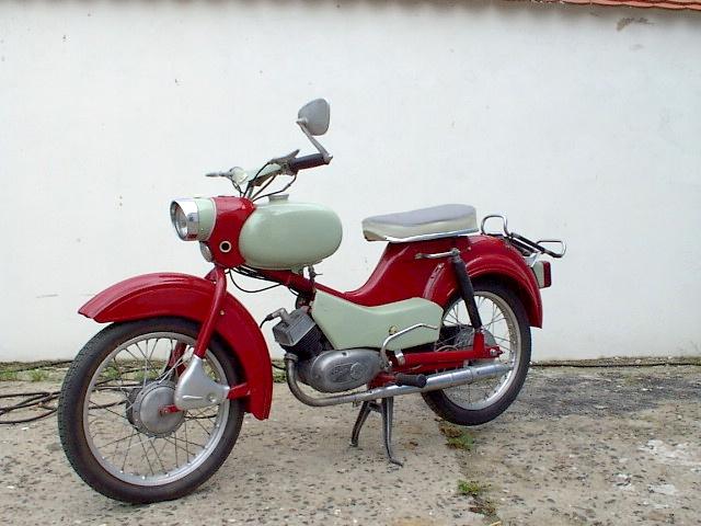 1964 Spatz (mus) kwam in 1964 als Moped