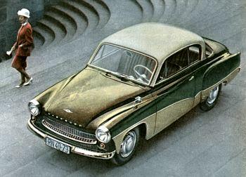 1964 wartburg coupe