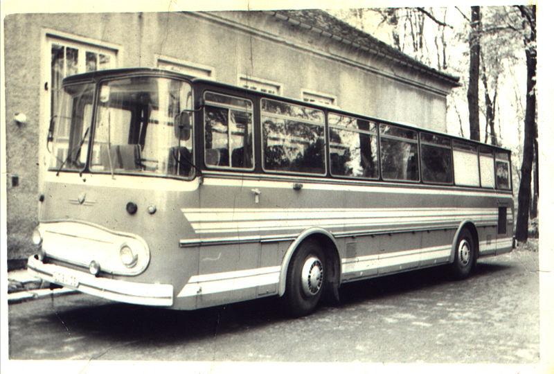 1965 Fleischerbus des Tanz und Schauorchester Rostock