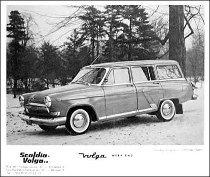 1965 gaz Volga weekend