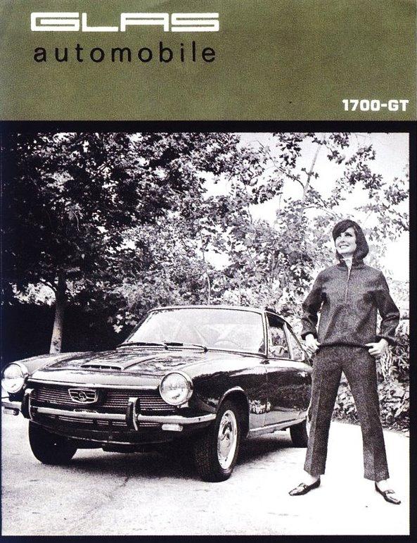 1965 Glas 1700 GT USA brochure