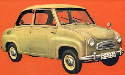 1965 goggomobil glas goggo