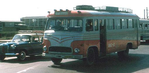 1965 Hino Thai Bus