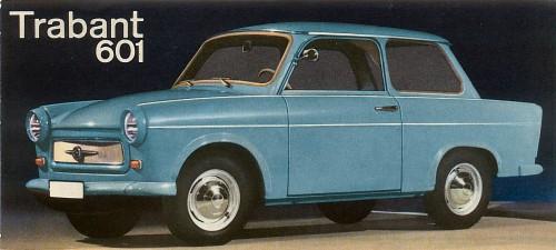 1965 trabant 601 sedan