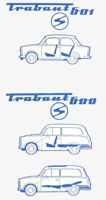 1965 trabant p 60 universal