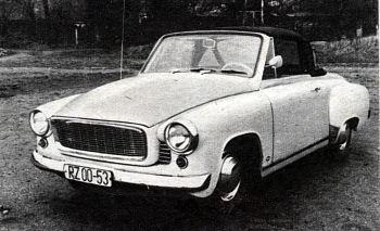 1965 wartburg 1000 cabrio