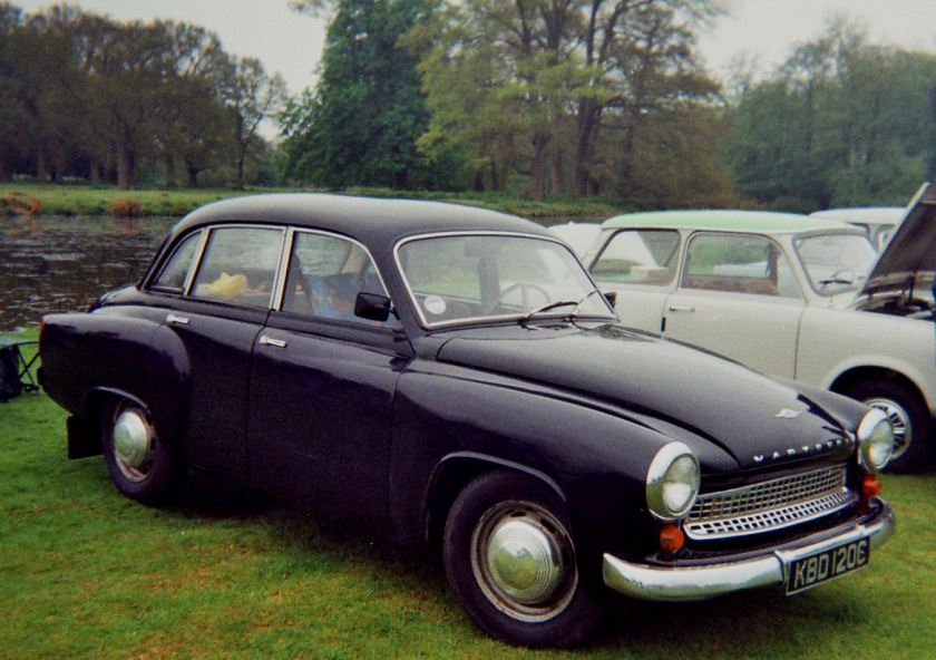 1965 Wartburg 311 (991cc)1965